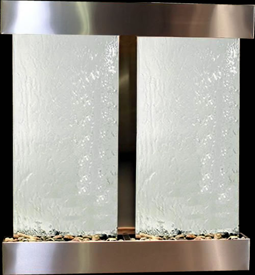 Aspen Falls StainlessSteel with Mirror