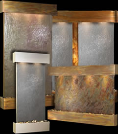 Light Weight Stone Wall Mounted Fountains