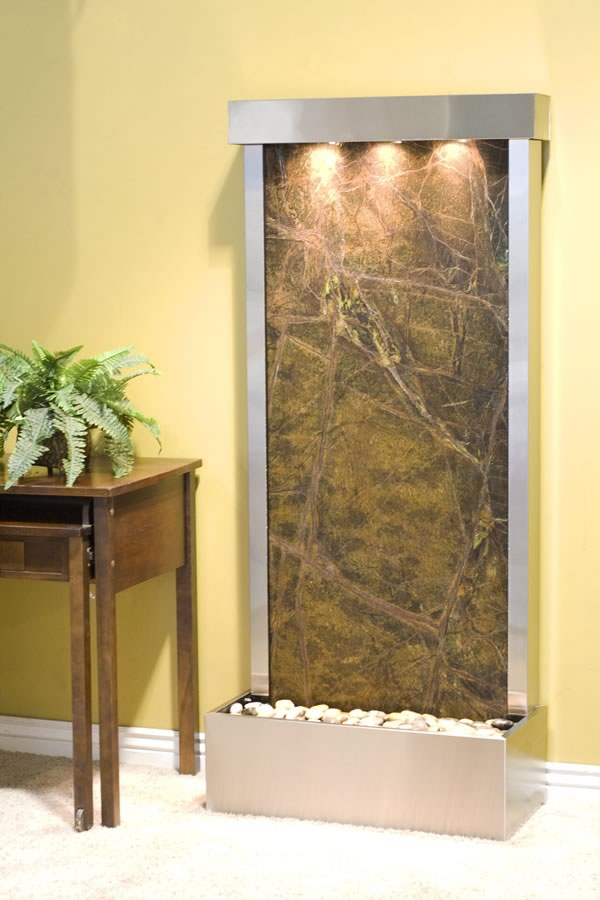 Adagio Harmony River Indoor Free Standing Marble Water