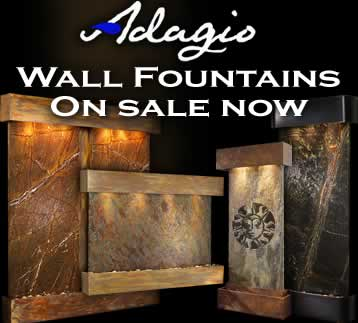 adagio water featurew now on sale - Interior Wall Water Fountains
