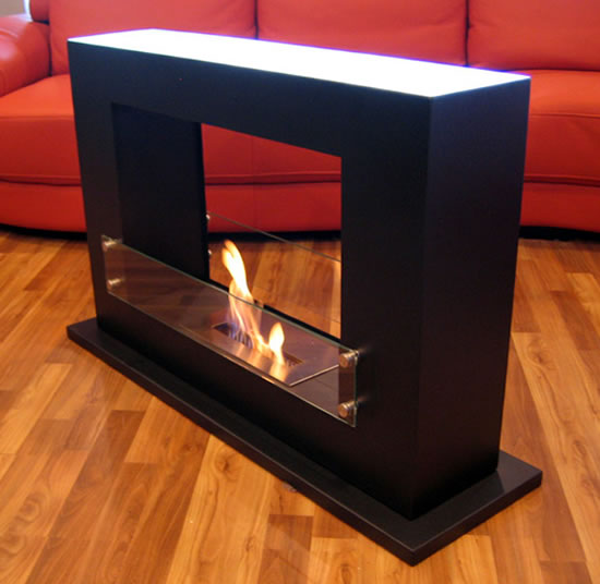 Even Max Indoor Freestanding Vent-free - Modern Fire Contemporary Indoor Outdoor Ethanol Burning Biofireplace