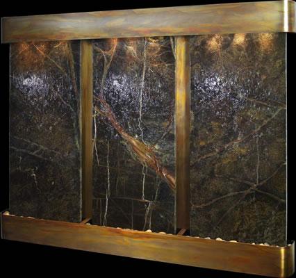 Adagio Deep Creek Falls Marble Indoor Wall Mounted Hanging