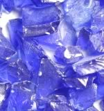 Dark Blue Accent Fire Glass Crystals