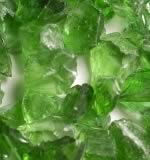 Light Green Accent Fire Glass Crystals
