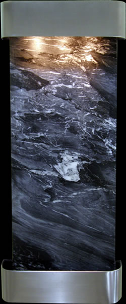 Adagio Inspiration Falls with Black Spider Marble