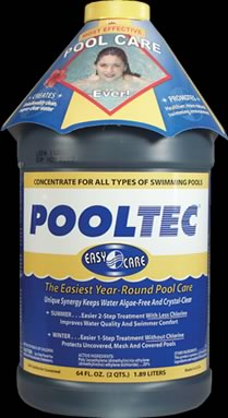 Pooltec Algaecide and Clarifier, Sale and Chlorine Booster for Swimming Pools